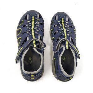 Merrell | Blue Green Boys Hiking Outdoor Sandals 3